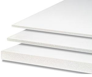 Foamboard 5 mm, white - 35% discount