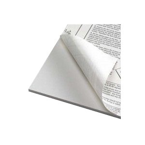 Foamboard 10 mm, white one-side self-adhesive - 35% discount