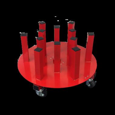 PlastGrommet Swivel Rack