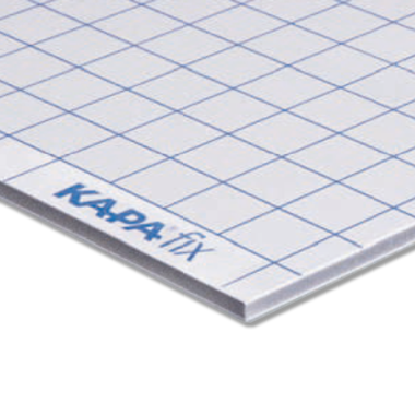 KapaFix® 3 mm, white one-side self-adhesive